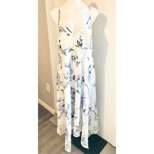 Rosegal flower print dress